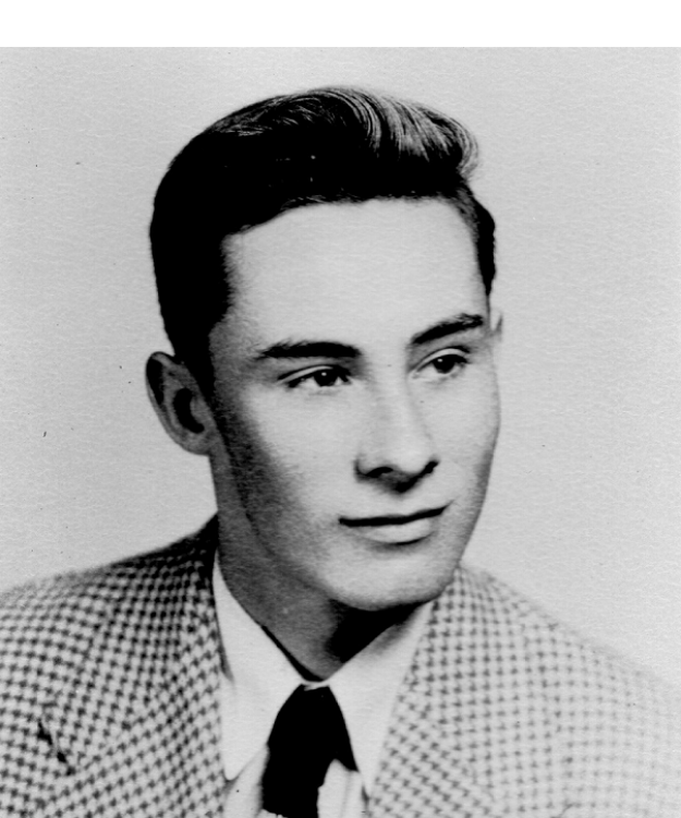 Picture of Roger in high school